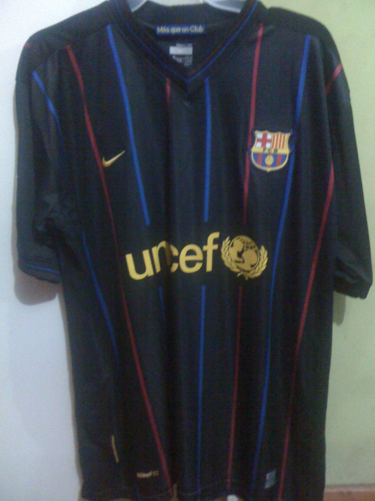 LAS CAMISETAS DE FÚTBOL BRAYAN HURTADO  Camiseta Barcelona (España ... a474b87c73706