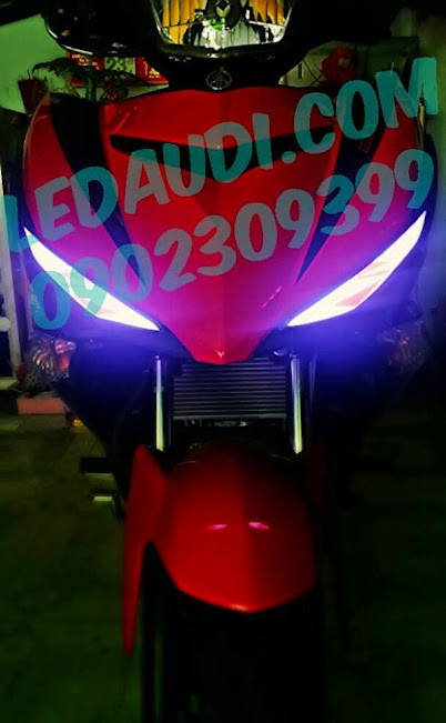 led audi exciter 150cc