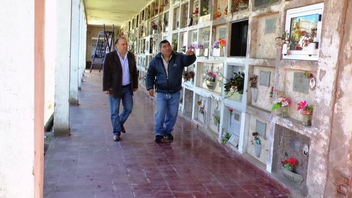 cementerio de Quequén