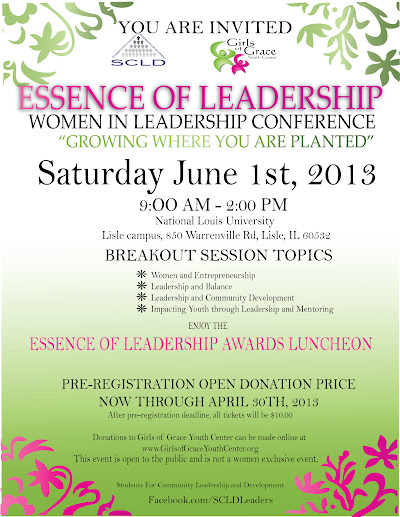 Essence of Leadership invitation