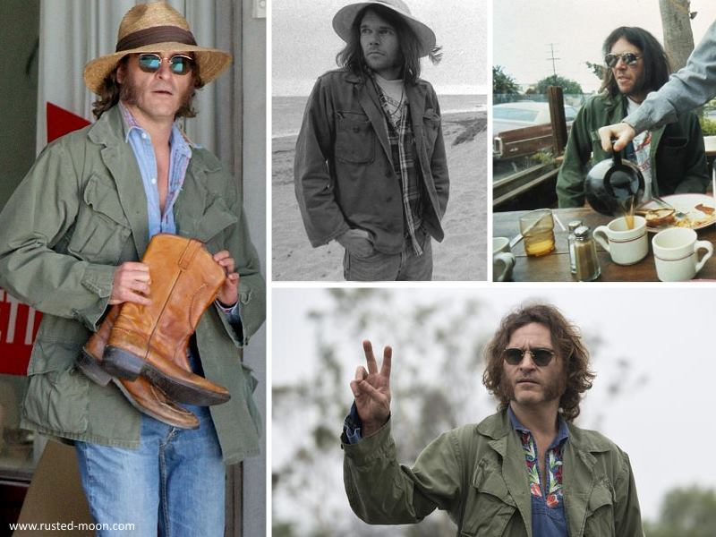 Neil Young und Joaquin Phoenix