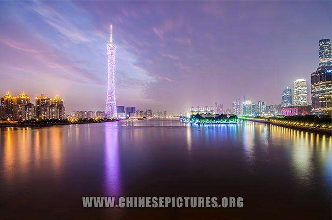 Guangzhou Tower & Zhujiang Photo