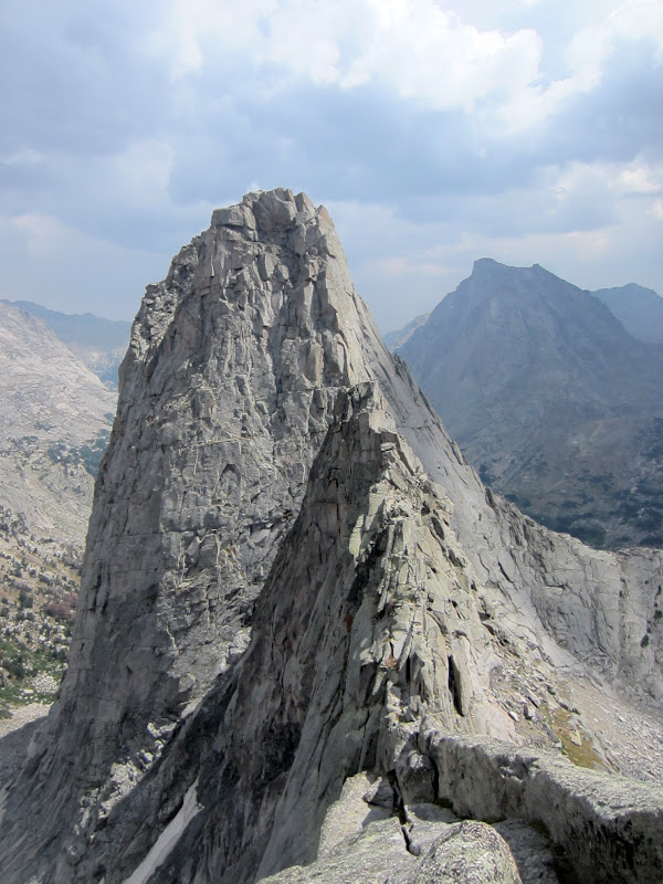 South Buttress of Pingora and East Ridge of Wolf's Head Linkup ...