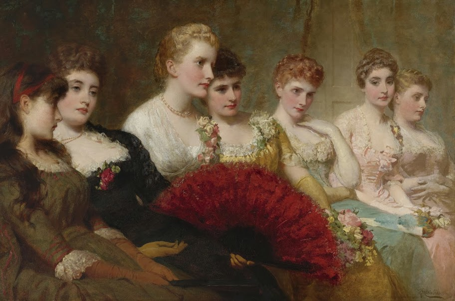 George Elgar Hicks - Fair critics