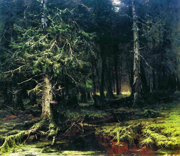 Julius Sergius von Klever - Virgin forest.1880