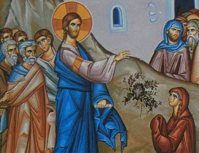 Resultado de imagen de fe de la mujer cananea