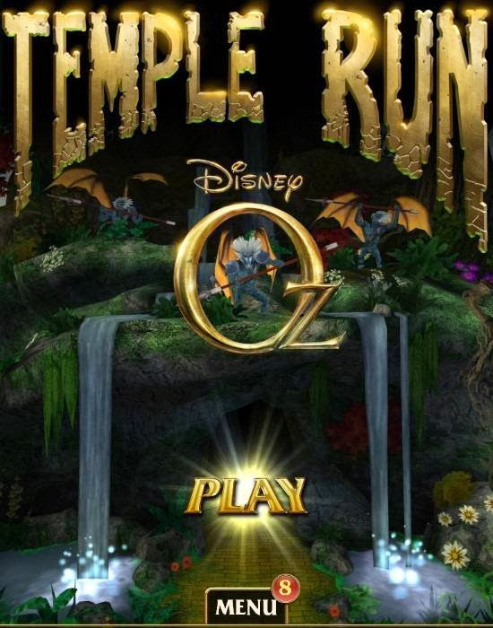 Cover Of Temple Run Oz (2013) Full Latest Version PC Game Free Download Resumable Links at Alldownloads4u.Com