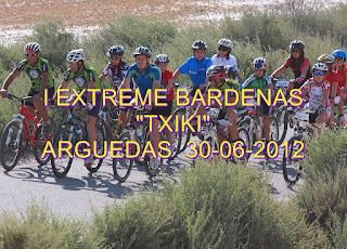"""I EXTREME BARDENAS """"TXIKIS"""" ARGUEDAS 30/06/2012"""