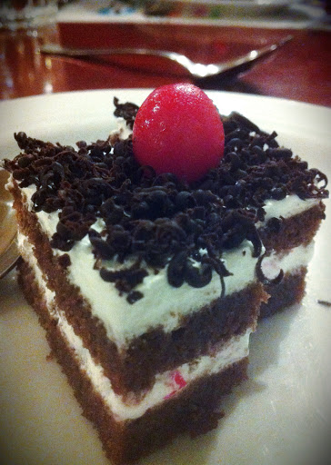 Vegan Black Forest Pastry