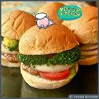 มินิเบอร์เกอร์ผัก