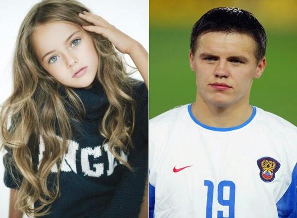 Cựu tuyển thủ Nga và cô con gái xinh nhất thế giới