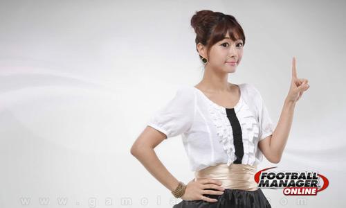 Ngắm nữ GM xinh đẹp của Football Manager Online 5
