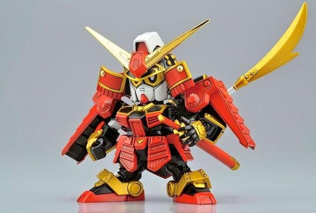 Lắp ghép Legend BB-373 Musha Gundam SD Sengokuden không tỷ lệ, cao khoảng 8 cm