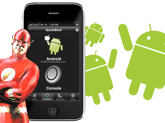 Flash android supersonico