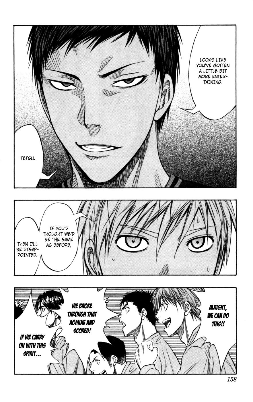 Kuroko no Basket Manga Chapter 116 - Image 11