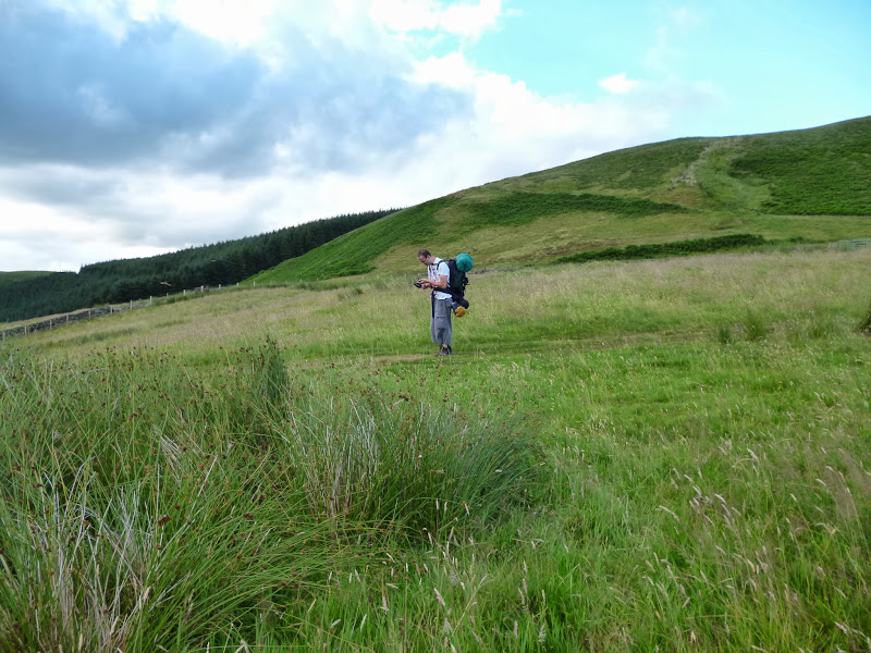 Walk Report - The Southern Upland Way - Sanquhar to ...