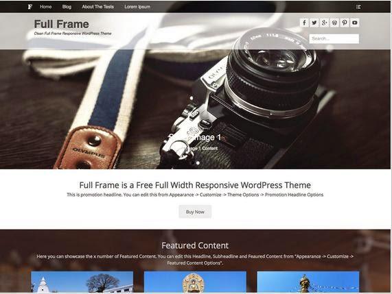 20 Plantillas WordPress Responsive gratis 2015