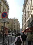 Walking on the Ile de Cite to the Seine