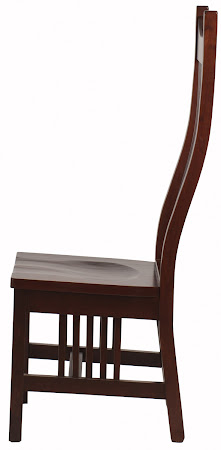 Western Chair in Rich Cherry