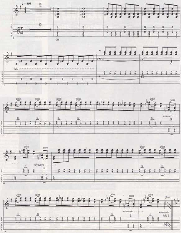 Dave Edmunds Sabre Dance Sheet music