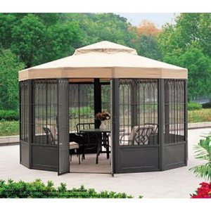 Replacement Canopy For Sam S Club Sunhouse Gazebo Best Buy Patio