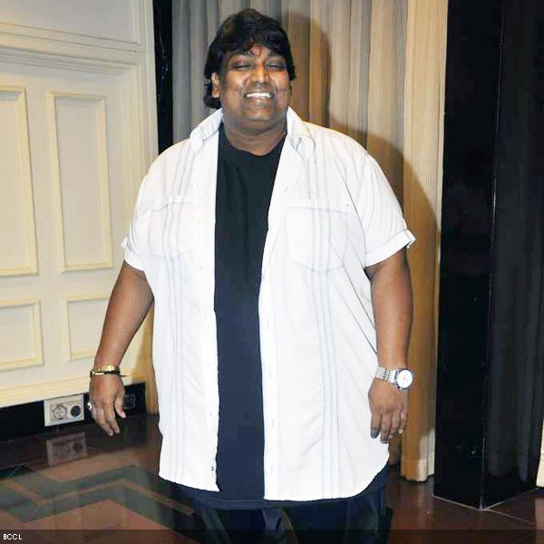 Choreographer Ganesh Acharya at 4th NBC Awards, held in Mumbai, on May 1, 2013. (Pic: Viral Bhayani)