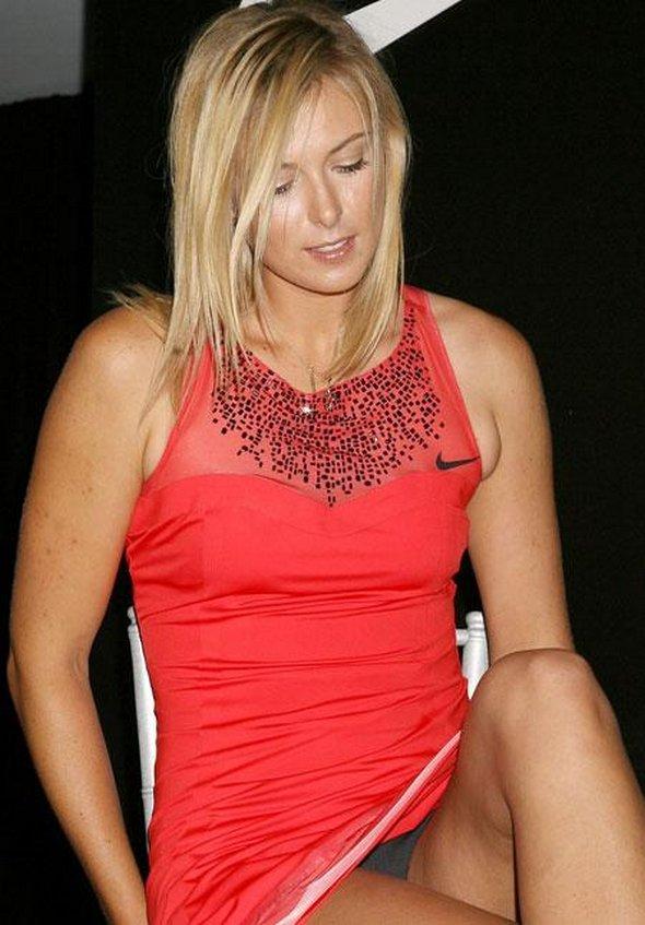 Tennis maria sharapova panties can consult