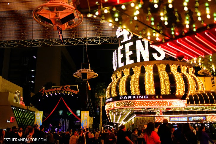 The Fremont Street Experience Las Vegas.