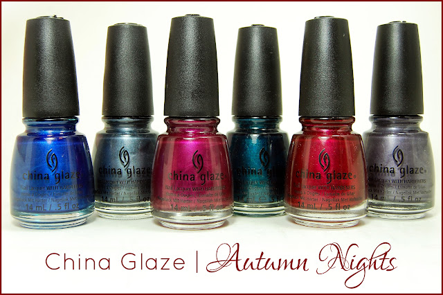 "China Glaze ""Autumn Nights"" Collection - Swatches & Reviews"