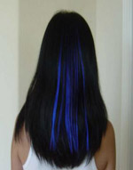 Be a Head-Turner With Blue Hair Dye:hair,find a girl