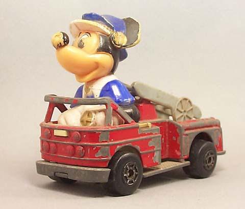 Autitos de juguete, colección para no tan niños. Wd01mickeyfireengine