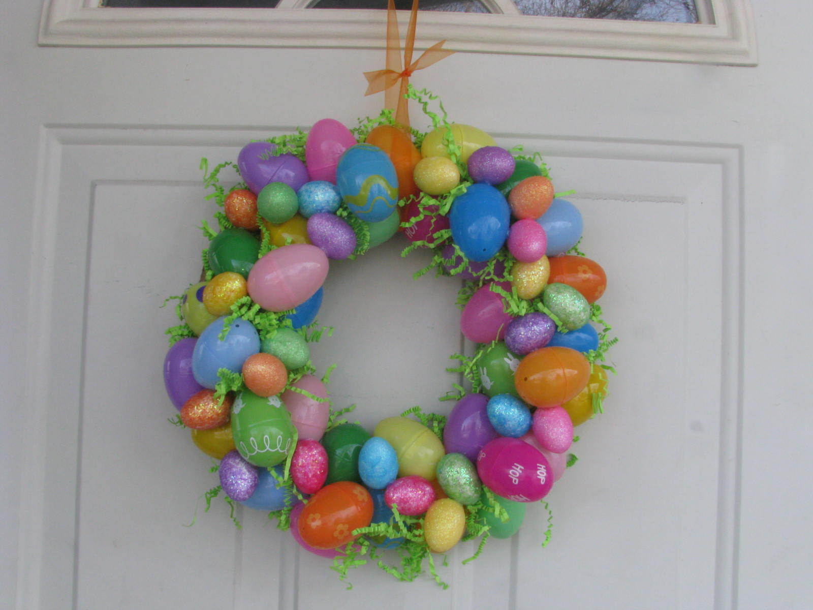 Collard Greens & Homemade Things: Easter Egg Wreath