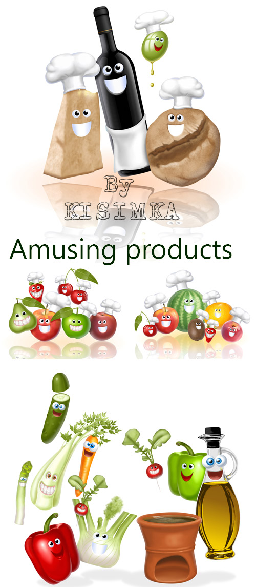 Stock Photo: Amusing products