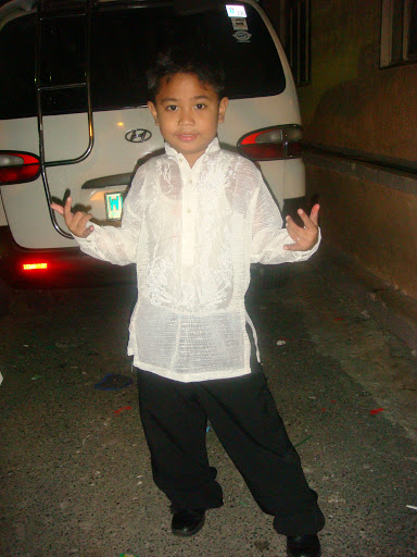 jerome james in barong
