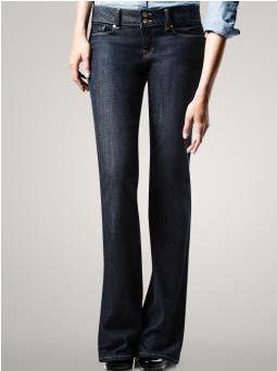 Dark Denim Bootcut Jeans - Xtellar Jeans