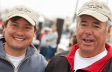 J/125 Double Trouble- co-owners Andy Costello (L) and Peter Kreuger (R)