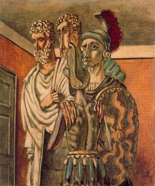 Giorgio de Chirico - Gladiators