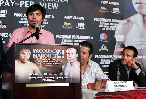 Pacquiao vs Marquez 4 Press Release