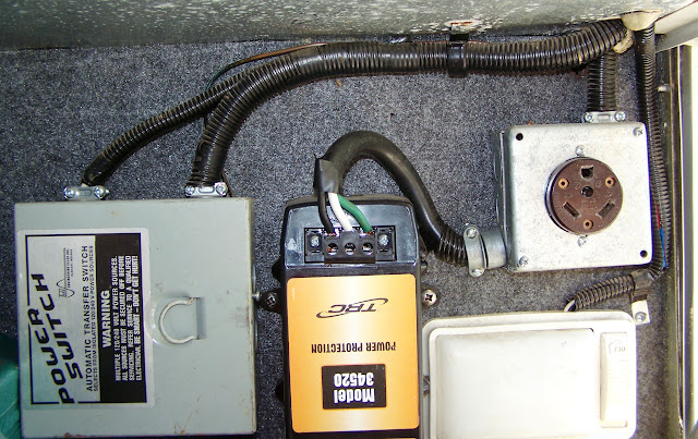 110v switchover box page 2 airstream forums from left to right the todd ts 30 power switch wiring diagram below center 30 amp surge guard and on the right the 30 amp receptacle