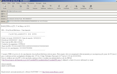 NeXT ERP 1.5.1 NFe 2.0