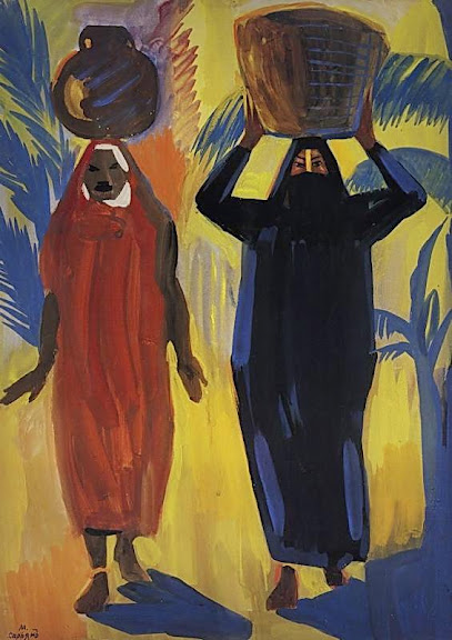 Martiros Saryan - Egyptian women, 1912