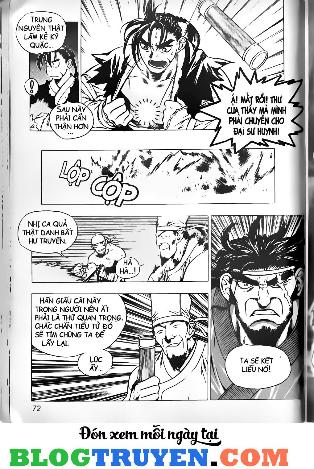 Thiên Lang Liệt Truyện Scan Chap 4 - Truyen.Chap.VN