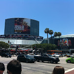 Outside the LA Convention Center for my first-ever E3!