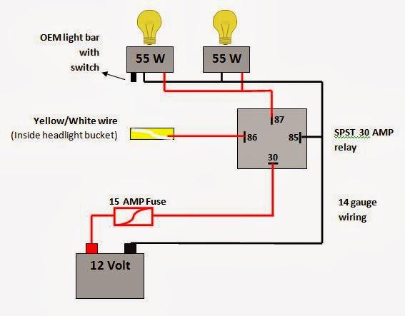 suzuki boulevard wiring diagram 1980 suzuki gs550 wiring diagram lightbar installation ...again - page 3 - suzuki volusia ... #14