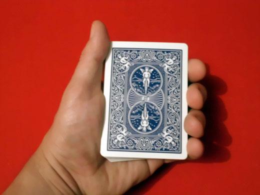 Posición de repartir cartas 1