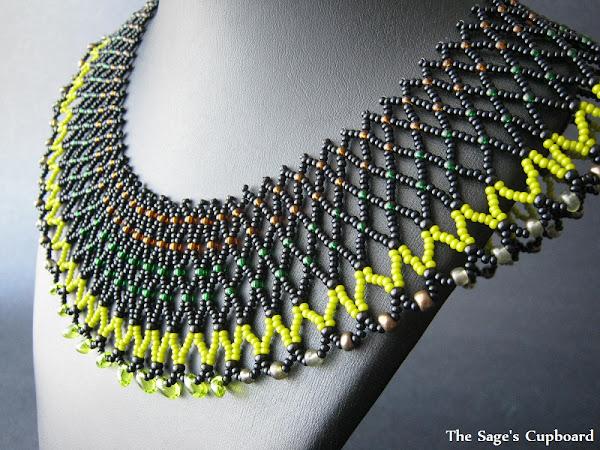 Nephthys Egyptian Collar