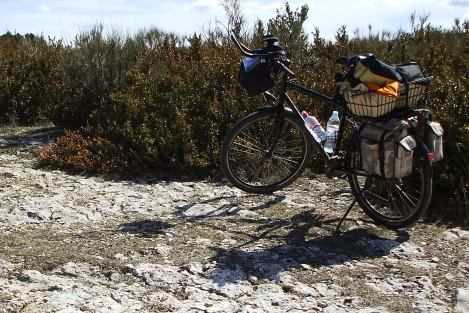 Miris Rad in der Provence, Frankreich