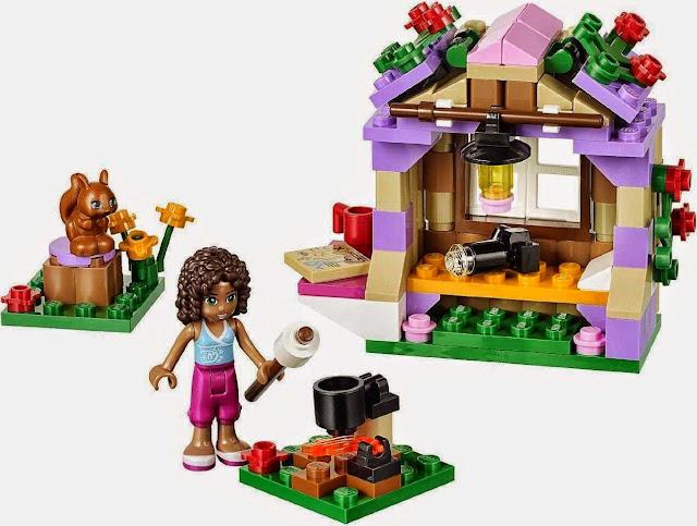 Bộ đồ chơi xếp hình Lego 41031 Andrea's Mountain Hut