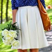 Сон юбка с пятном