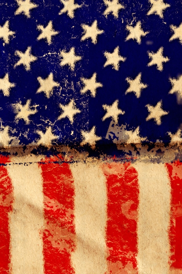 Flag of The United States Wallpapers For iPhone 4